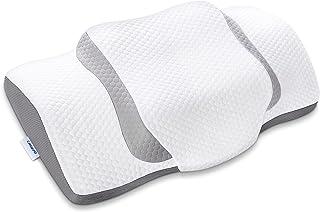 Sponsored Ad - Memory Foam Pillow, Cmuepo Cervical Neck Pillow for Pain Relief Sleeping, Dream Deep Contour Pillow for Sid...