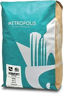 Schweik's Blend, Metropolis Coffee 5lb bag, Whole Bean Coffee