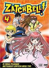 Zatch Bell!, Vol. 4 - A New Pledge Between Zatch and Tia