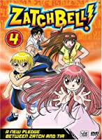 Zatch Bell 4: A New Pledge Between Zatch & Tia [DVD] [Import]