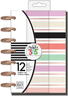 me & my BIG ideas Create 365 The Happy Planner Mini, Lovely Pastels (Horizontal), 12 Month Undated