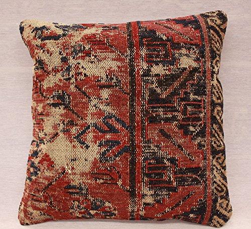 ETFA Kelim Kissen Kissenbezug Kissenhülle cushion cover pillow 40x40 cm 3519