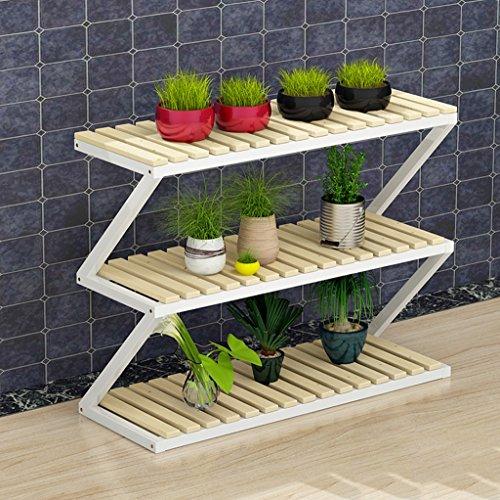 Balcon Style de plancher Cadre de fleurs Intérieur Ensemble de salon Ensemble (taille : 3 layers)