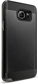 Spigen Neo Hybrid Carbon Galaxy Note 5 Case with Carbon Fiber Design and Reinforced Hard Bumper Frame for Galaxy Note 5 20...
