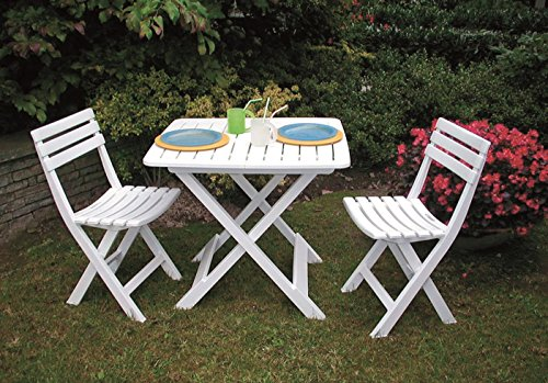 3-teiliges Kunststoff Gartenmöbel Set w auf schoene-moebel-kaufen.de ansehen