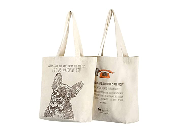 Every Snack You Make Tote (Tan) Dog Accessories
