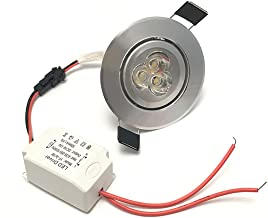 Lámpara LED downlight, de LEDIARY; redonda, empotrable, 110