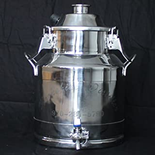 Best 3 gallon stainless steel milk can Reviews