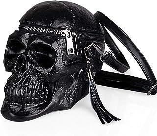 9e9722722e Kalttoy 3D Crâne Sac À Bandoulière Crossbones Messenger Bag Unisexe Hommes  Femmes Rue De La Mode