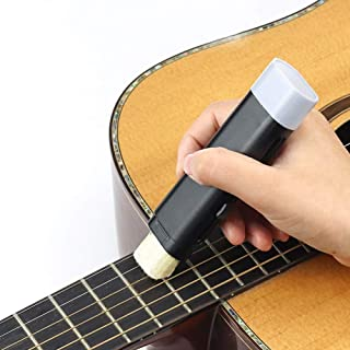 Flantor Guitar Cleaner String Care Eraser, Fast Double Head Guitar Strings Cleaner Eraser with Lubricant in Brush String a...