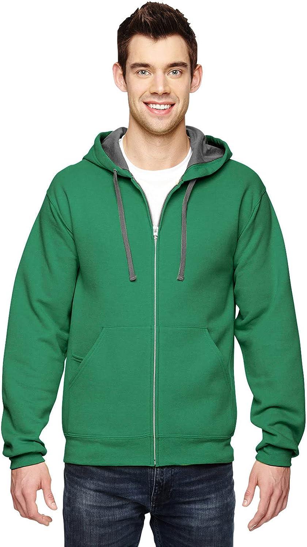 Fruit Ranking TOP20 of the Loom In stock Hooded Men's Full-Zip Sweatshirt