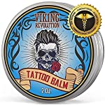 Viking Revolution Tattoo Care Balm for Before, During & Post Tattoo – Safe, Natural Tattoo Aftercare Cream… 7