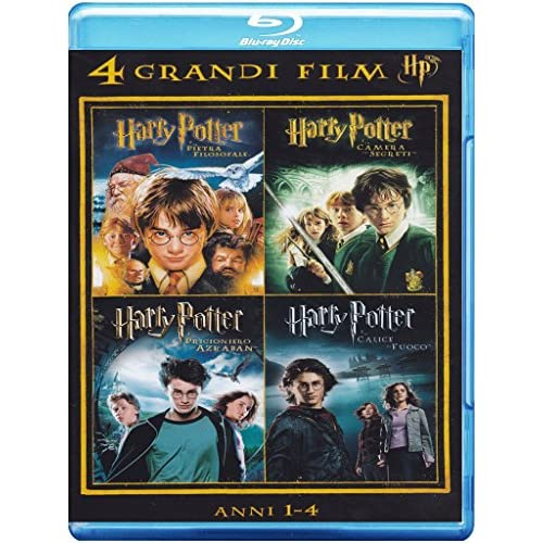 4 grandi film - Harry Potter - Anni 1-4Volume01