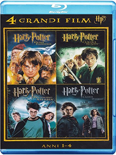 4 grandi film - Harry Potter - Anni 1-4 Volume 01 [Italia] [Blu-ray]