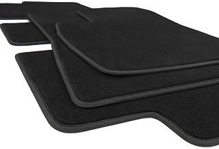 kh Teile Fußmatten Model 3 Zubehör Velours Automatten Sport Tuning, 3 teilig schwarz