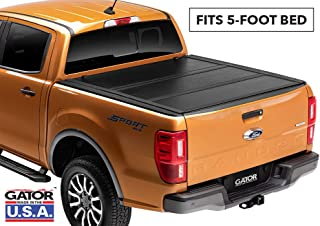 Gator EFX Hard Folding Truck Bed Tonneau Cover | GC24022 | Fits 2019 Ford Ranger 5' bed