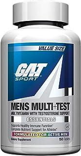 GAT Sport Essentials Men Multi Plus Test Capsules, 150 Count