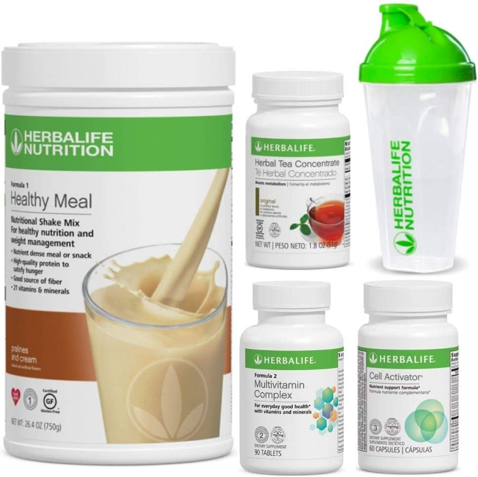 Herbalife Quickstart Pralines Max 57% OFF n Cream Shak Weight + Long Beach Mall Program Loss