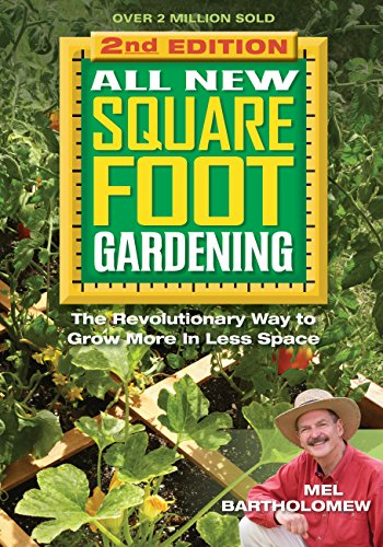 15 of the best gardening books for beginners: Square Foot Gardening II #aNestWithAYard #book #gardenBook #backyardGarden #garden #gardening #gardenTips #gardencare