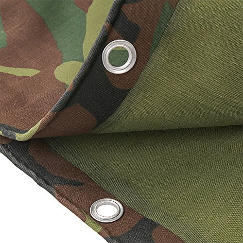 WDXJ Große Camouflage-Plane-Wasserdichte Hochleistungs-3x4m verdicken Segeltuch-Plane-Blatt-Abdeckung 3m im Freien regendichte Tuch-Zelt-Spleiß-Markise-Sonnenblende (größe : 5 * 8m)
