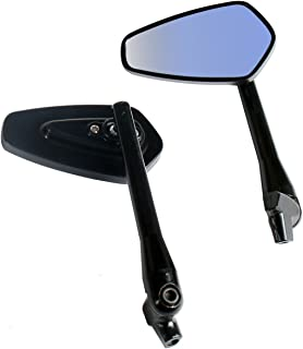 One Pair Black Arrow Rear View Mirrors for 2001 Harley-Davidson Dyna Super Glide T-Sport FXDX-T