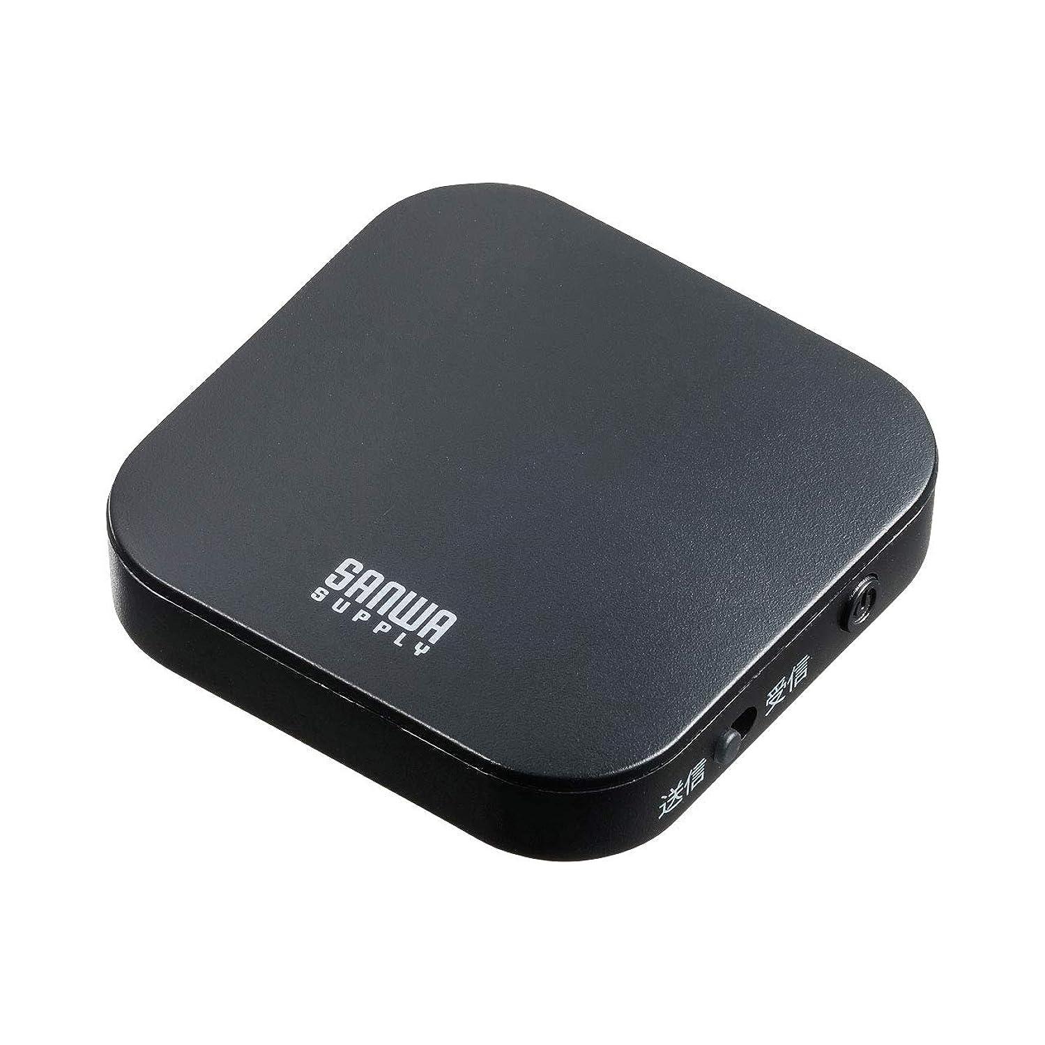 繊毛クレーン富サンワサプライ Bluetoothオーディオトランスミッター&レシーバー MM-BTAD5