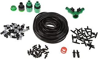 OCcitop Garden Hose Automatic Watering Irrigation Micro Drip Kits With Drippersfor Adult Garden Irrigation 5M