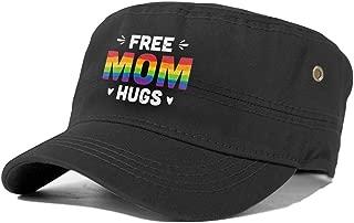 Free Mom Hugs 02 Adult Flat Cap Cap Flat Top