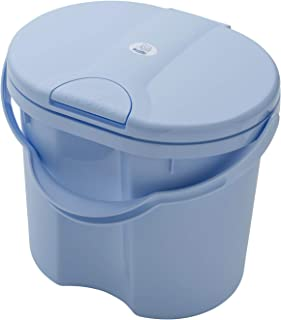 Rotho Babydesign TOP Pojemnik na zużyte pieluszki, Z pokrywką, 11 l, Od urodzenia, Sky Blue (jasnoniebieski), 20002 0289