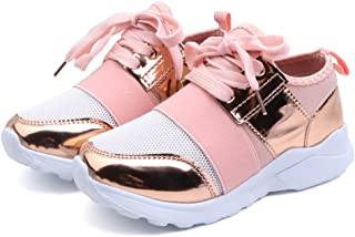 ⭐ Futurelove ⭐  2019 Autumn New Fashionable Baby Net Breathable Leisure Sports Running Shoes for Girls White Shoes for Boys Kids Shoes 7-12 Years