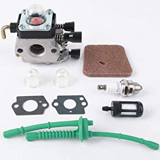 NIERBO Kit de Carburador para STIHL FS55 FS55R FS55RC KM55 KM55R HL45 FS38 FS45 FS46 Accesorios para Piezas de Motor Reemp...