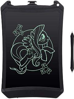 EooCoo LCD Schreibtafel 8.5 Zoll, Magische Maltafel, Magic Drawing Pad, Schreibplatte Papierlos Zaubertafel für Graffitik, Malen, Notizen als Geschenke, Schwarz
