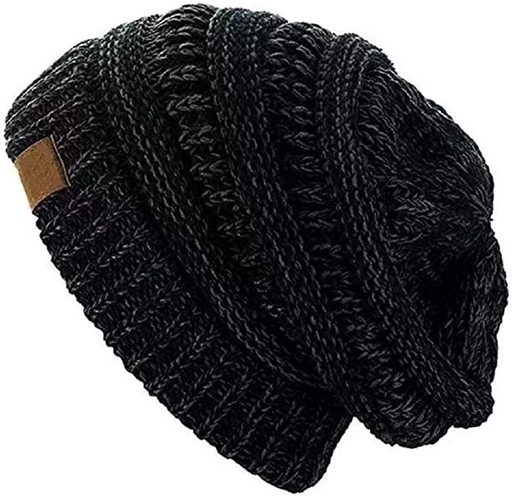 YAOSEN Warm Winter Skull Save money Cap Solid Bean Max 62% OFF Color Slouchy Hat Velvet