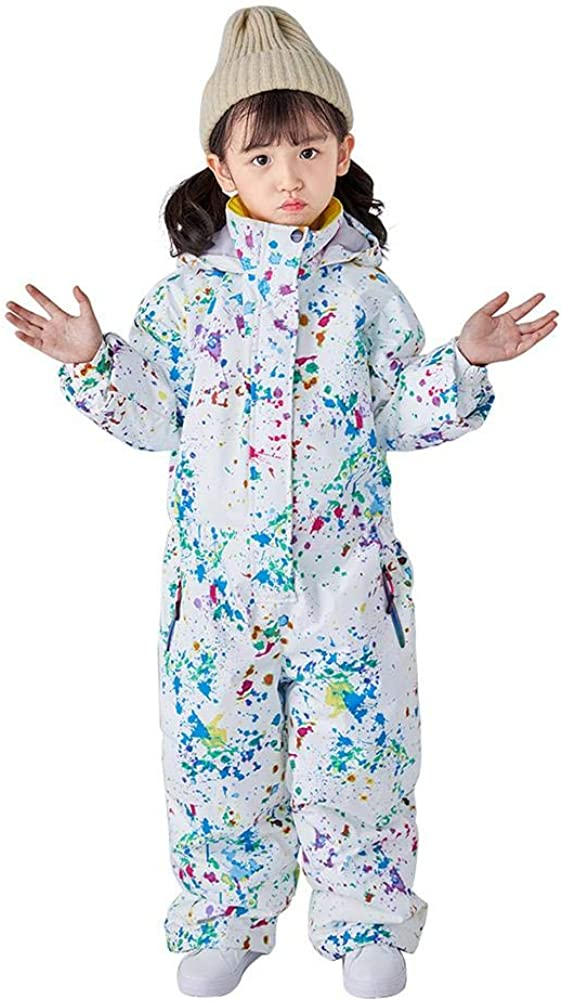 New Free Shipping Children's One Piece Jumpsuits Ski Suits and Ranking integrated 1st place Baby Boys for Girls