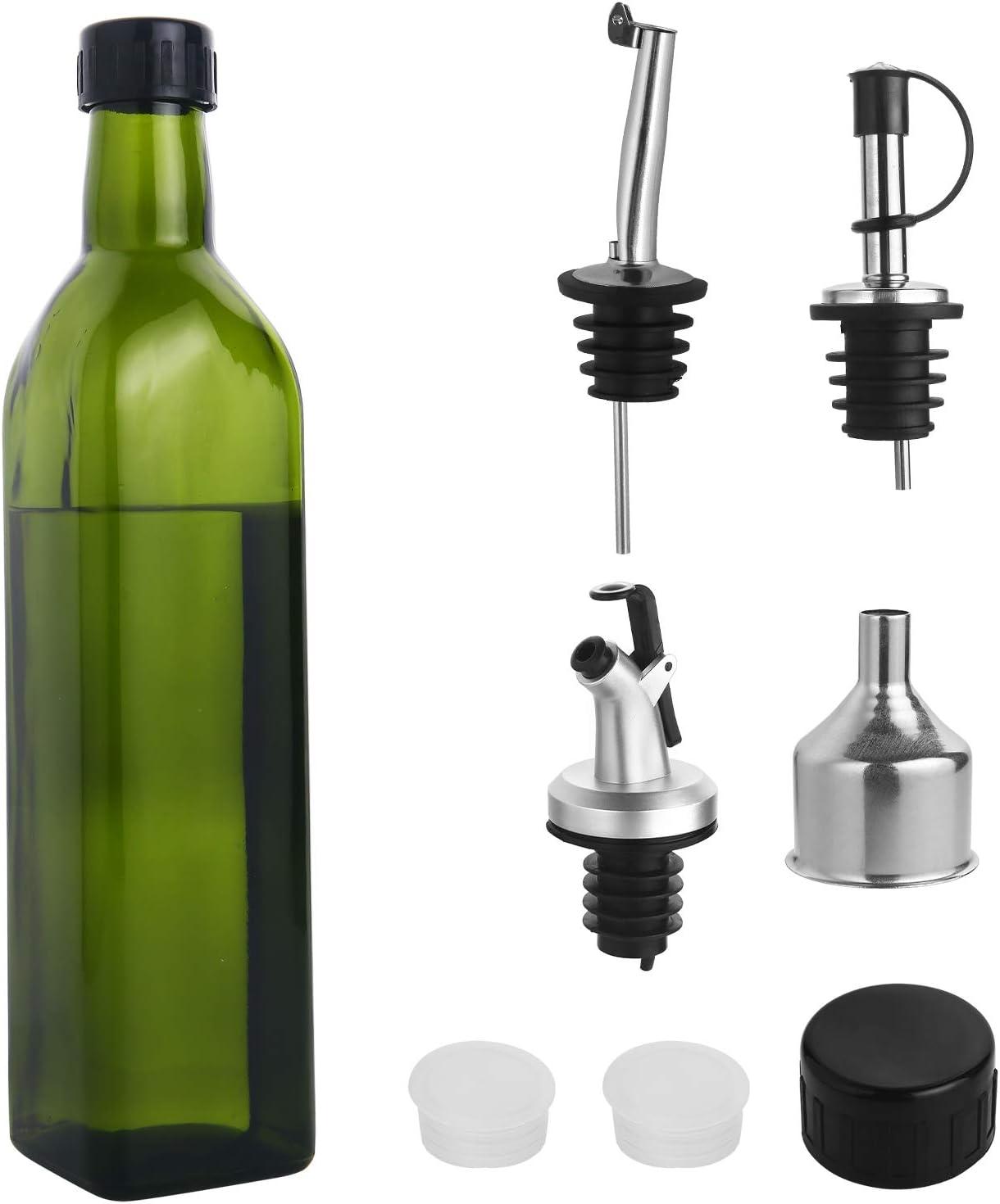 Glass online shop Olive Oil Dispenser Bottle Store - 500 oz. ml Dark 17 fl. Gr