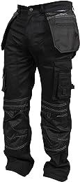 Pantalon de travail cargo pour homme avec poches d