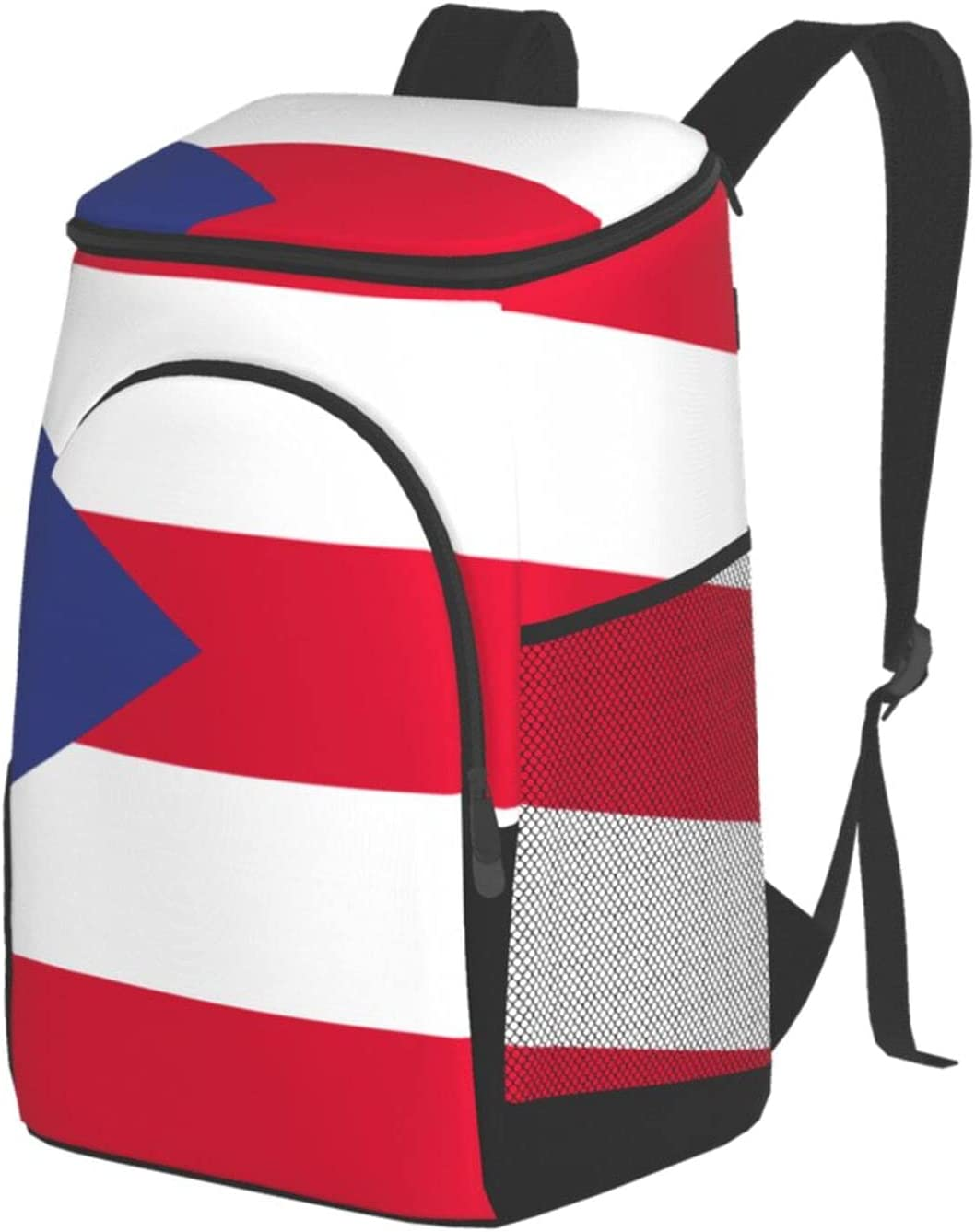NDAQUC Puerto Rico Flag Game Bag Insulation Pic Same day shipping Shoulder San Jose Mall Outdoor