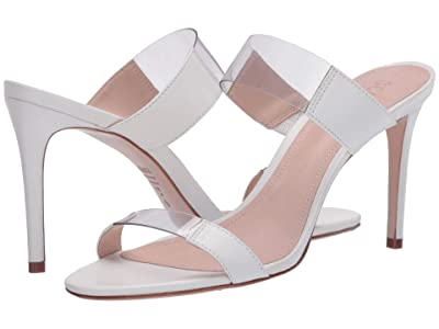 Schutz Adinna (White/Transparent) Women