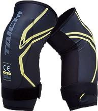 RSタイチ(アールエスタイチ) ステルス CE (レベル2)ニーガード 膝プロテクター ペア ブラック/イエロー M [TRV080]