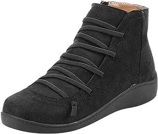 Xmiral Boot Donna Neve Casual Plus Velluto più Caldo Cotone Caldo Stivali di Cotone Impermeabile Stivali da Neve #060108