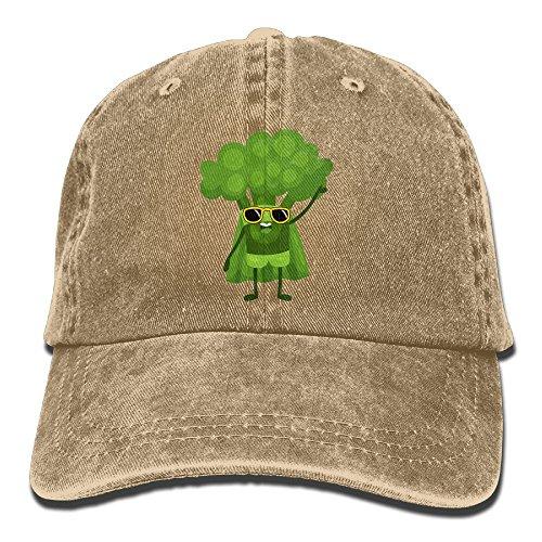 Funny Vegan Power Vintage Unisex Washed Cap Adjustable Dad's Denim Stetson Hat