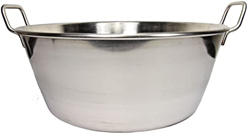 """2021 Cazo Para online Carnitas 16"""" 2021 Stainless Steel Heavy Duty Acero Inoxidable Wok comal Fry Mexican Style online sale"""