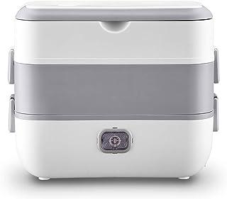 Draagbare Elektrische Verwarming Lunch Box, Stainless Steel 220V Mini Rijstkoker Keuken Kantoor Meal Thermal Schotelwarmer...