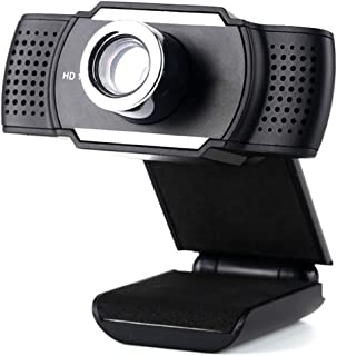 HD Webcam with Microphone, Laptop 720P Clip-on Web Camera, with a Dustproof Anti-peep Lens Cover