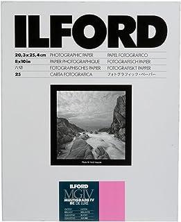 ILFORD Papier MULTIGRADE IV RC DE Luxe MGD 1M Surface Brillante 203 x 254 cm 25 feuilles