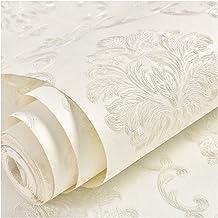 Wallpaper Self-adhesive Wallpaper, European Style 3-dimensional Embossed Non-woven Wallpaper, Living Room/Bedroom Backgrou...
