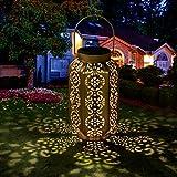 Solar Laterne außen Solarlaterne Deko Garten Wasserdicht Hängend Solarlampen für