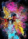 Freddie Mercury Diamond Painting, DIY 5D Diamond Painting, Adult Full Diamond Embroidery kit, Round Diamond Cross Stitch Gift, Home Decoration.(11.8x15.8inch)