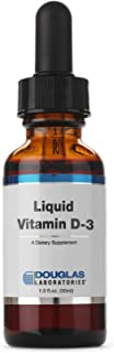 Douglas Laboratories - Liquid Vitamin D3 - Supports Bones, Cell Growth, Neuromuscular and Immune Function* - 1 fl. oz.