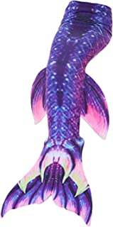 Kokowaii Fancy Womens Girls Mermaid Tail Dress Swimwear(no Monofin)